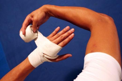 удары в тайском боксе.