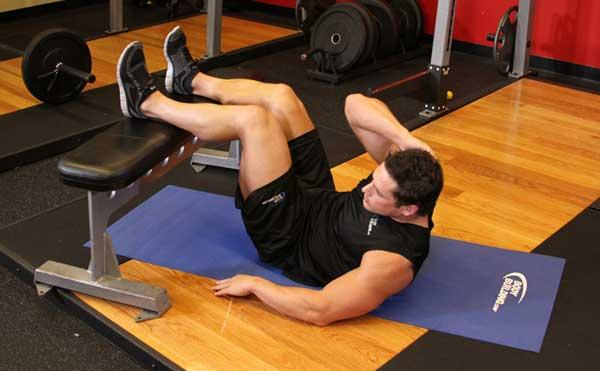 Как качать мышцы пресса для тайского бокса